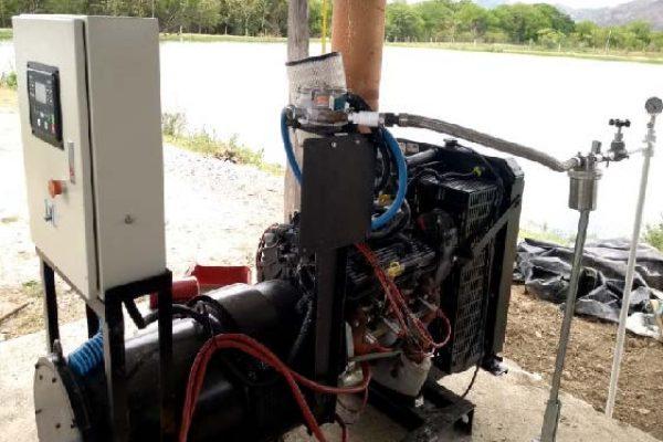 Montaje y mantenimiento de motores a GLP aplicados a riego y generación de energía eléctrica.